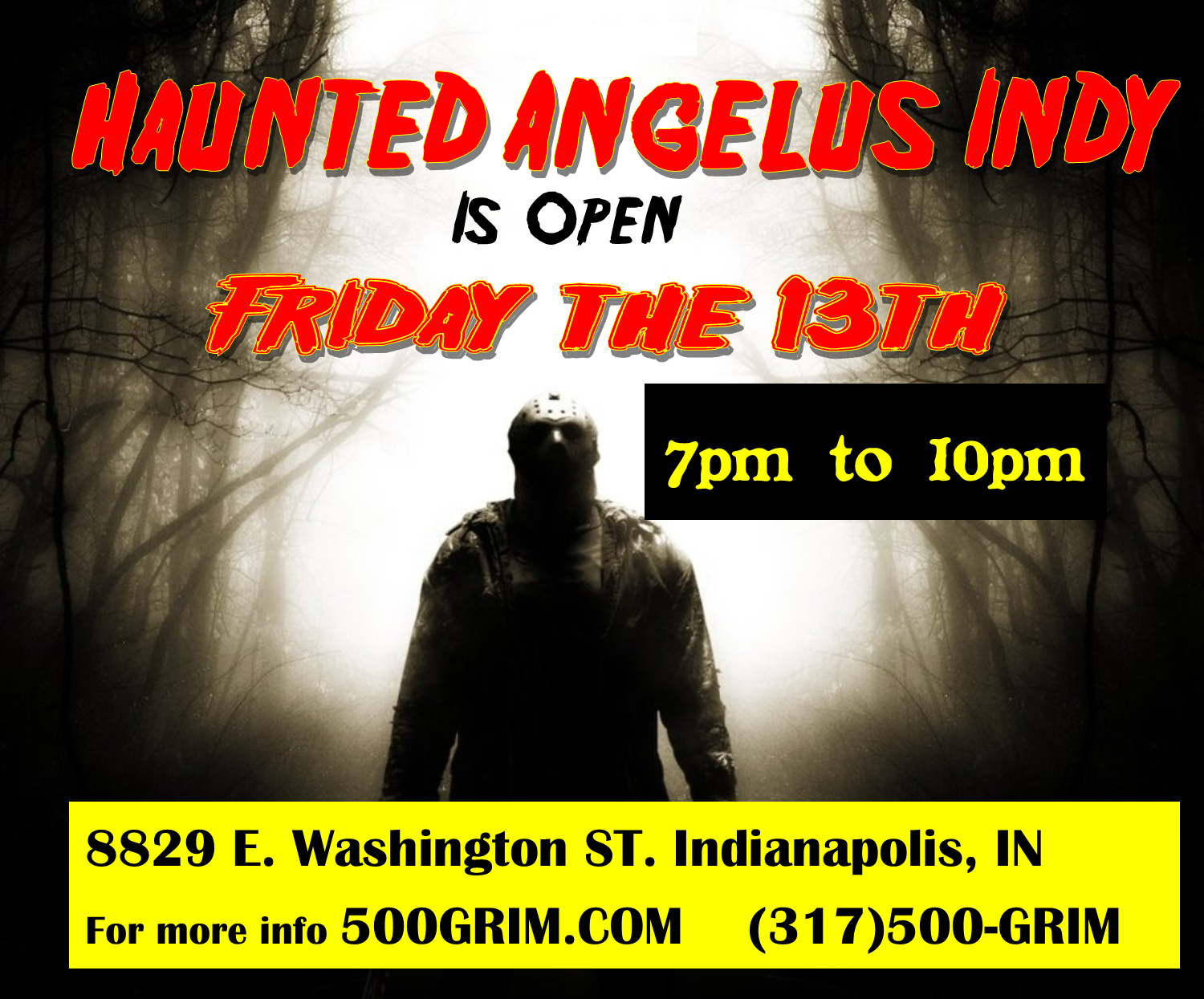 Open Friday the 13th
